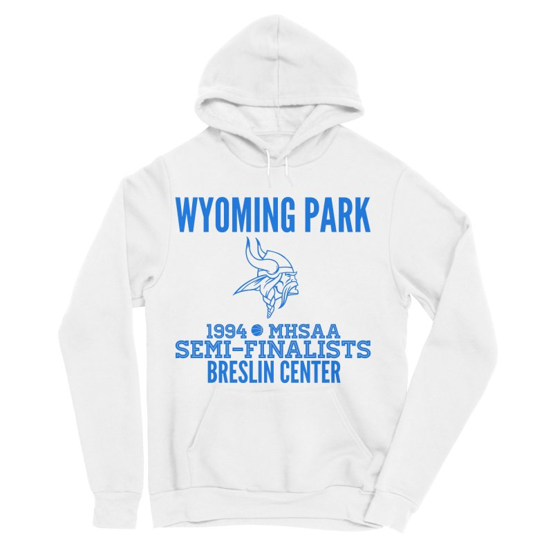 Wyoming Park 1994 Bball Blue Men's Sponge Fleece Pullover Hoody by Elevation Wyoming