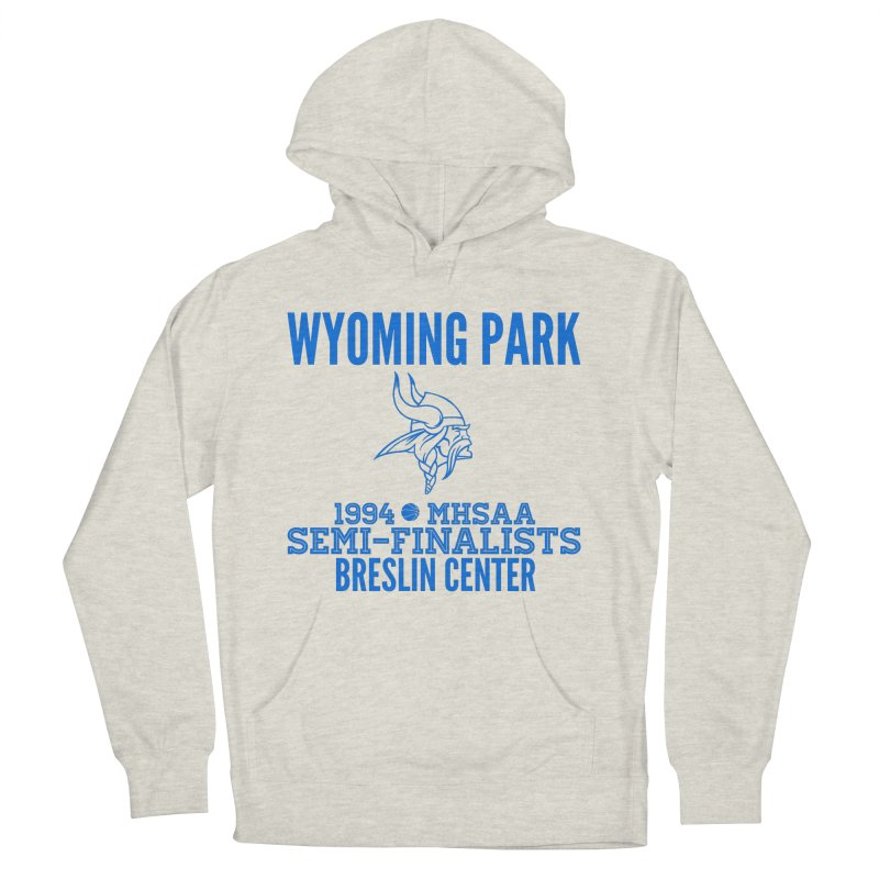 Wyoming Park 1994 Bball Blue Women's French Terry Pullover Hoody by Elevation Wyoming