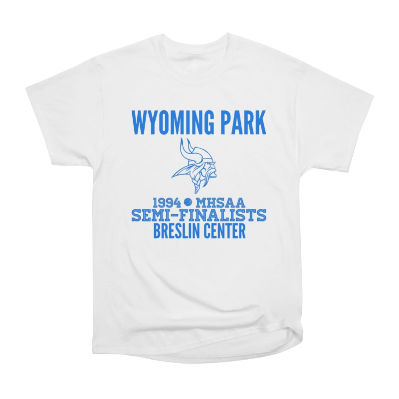 Wyoming Park 1994 Bball Blue Women's Heavyweight Unisex T-Shirt by Elevation Wyoming