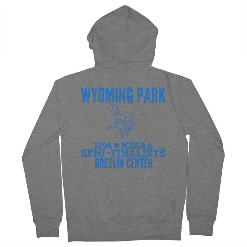 Wyoming Park 1994 Bball Blue Women's Zip-Up Hoody by Elevation Wyoming