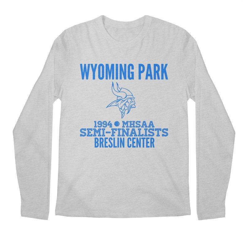 Wyoming Park 1994 Bball Blue Men's Regular Longsleeve T-Shirt by Elevation Wyoming