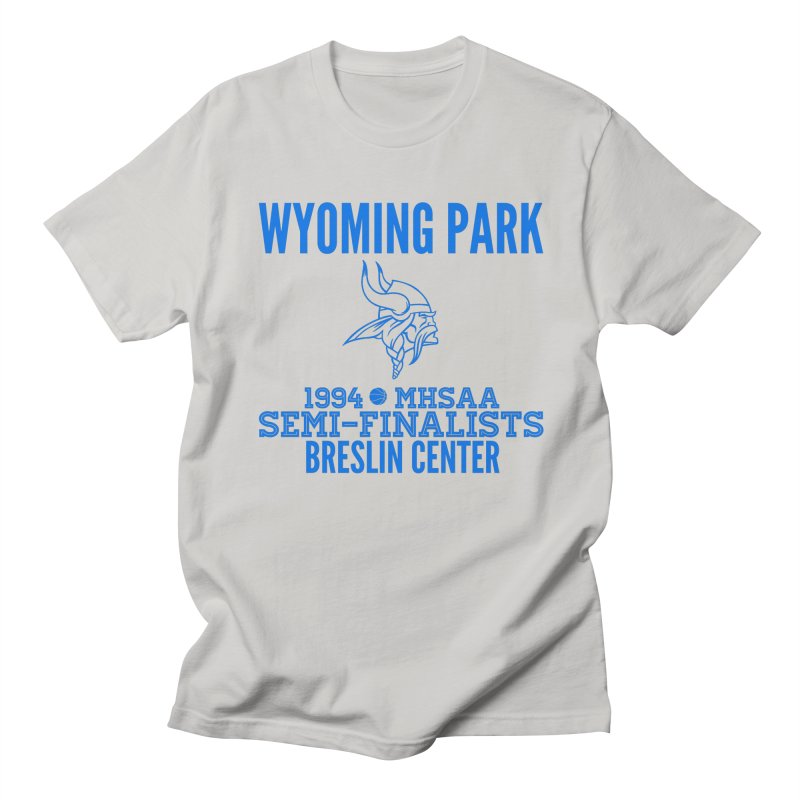 Wyoming Park 1994 Bball Blue Men's T-Shirt by Elevation Wyoming