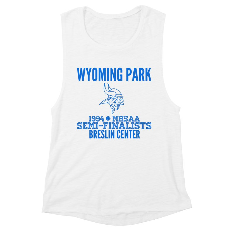 Wyoming Park 1994 Bball Blue Women's Tank by Elevation Wyoming
