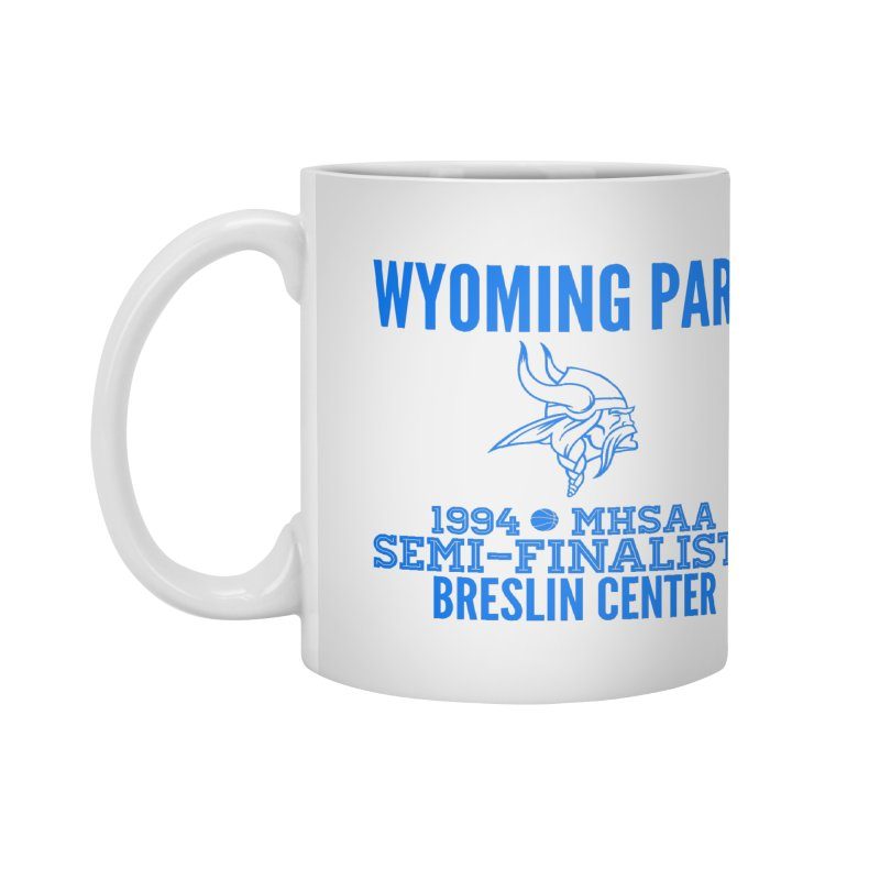Wyoming Park 1994 Bball Blue Accessories Mug by Elevation Wyoming
