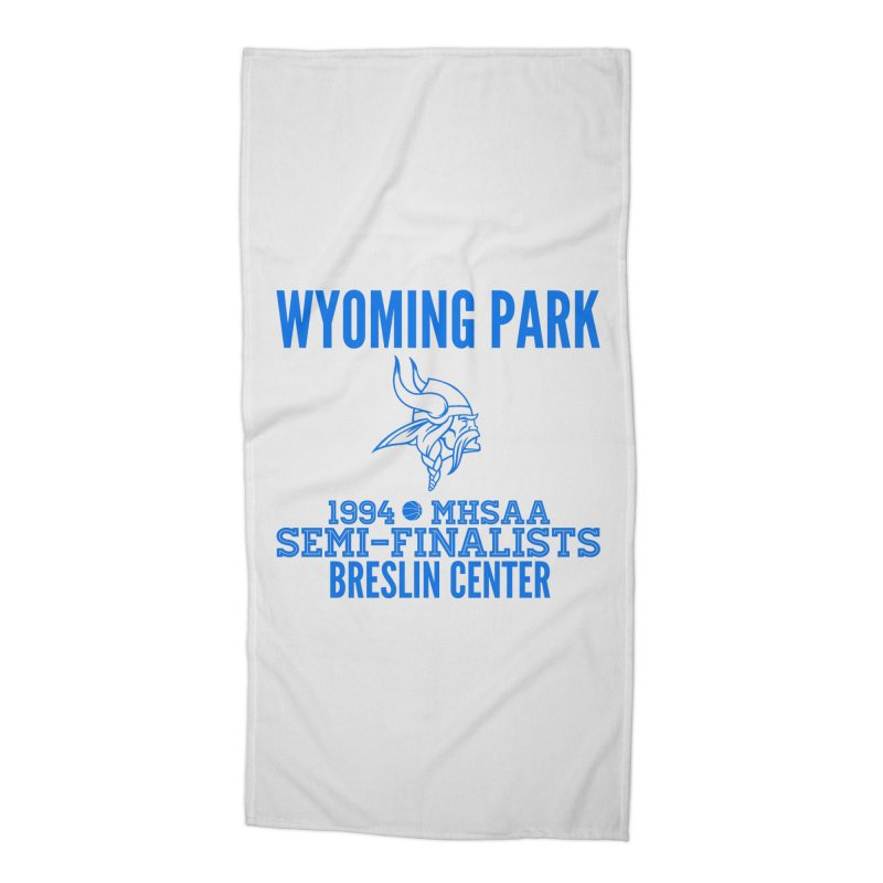 Wyoming Park 1994 Bball Blue Accessories Beach Towel by Elevation Wyoming
