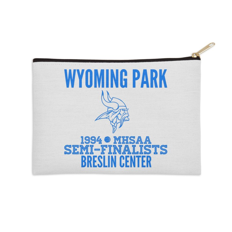 Wyoming Park 1994 Bball Blue Accessories Zip Pouch by Elevation Wyoming
