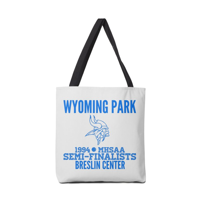 Wyoming Park 1994 Bball Blue Accessories Bag by Elevation Wyoming