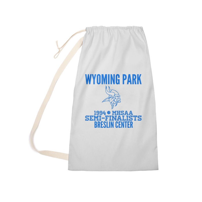 Wyoming Park 1994 Bball Blue Accessories Laundry Bag Bag by Elevation Wyoming