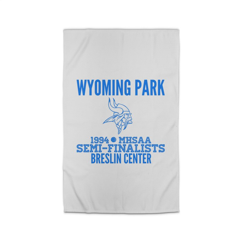 Wyoming Park 1994 Bball Blue Home Rug by Elevation Wyoming