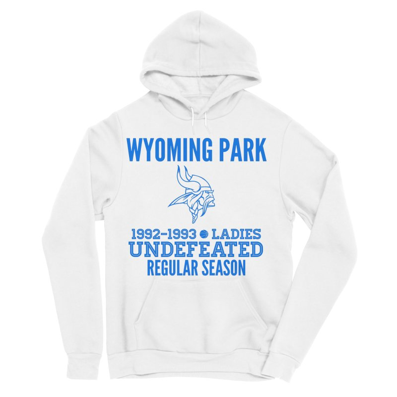 Wyoming Park 92-93 Undefeated Ladies Bball Blue Men's Sponge Fleece Pullover Hoody by Elevation Wyoming