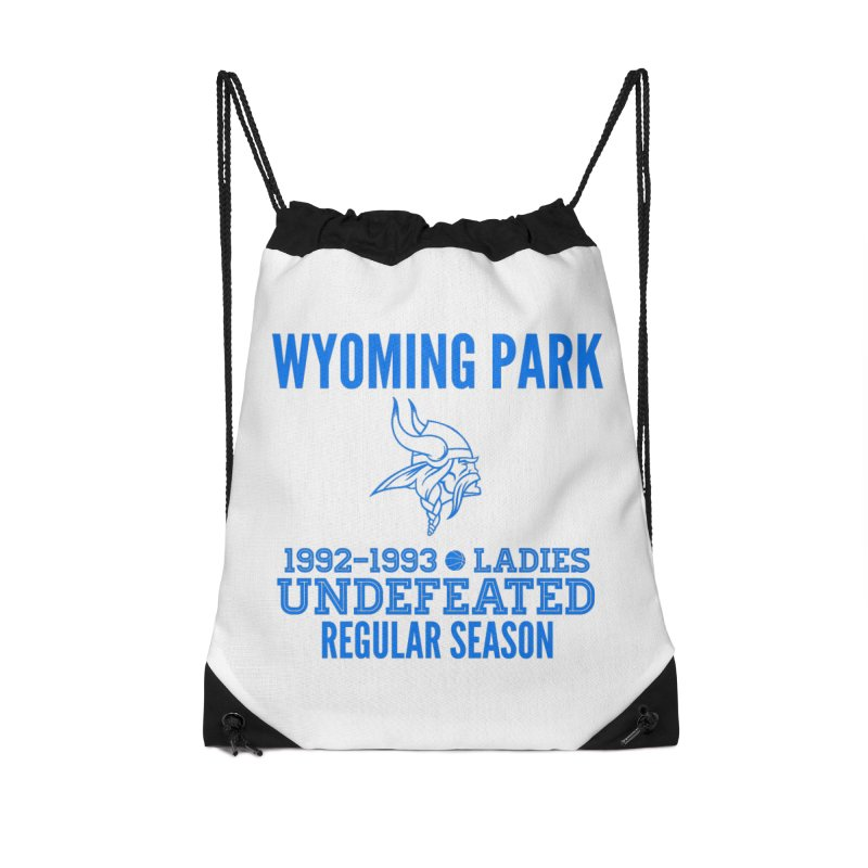 Wyoming Park 92-93 Undefeated Ladies Bball Blue Accessories Bag by Elevation Wyoming