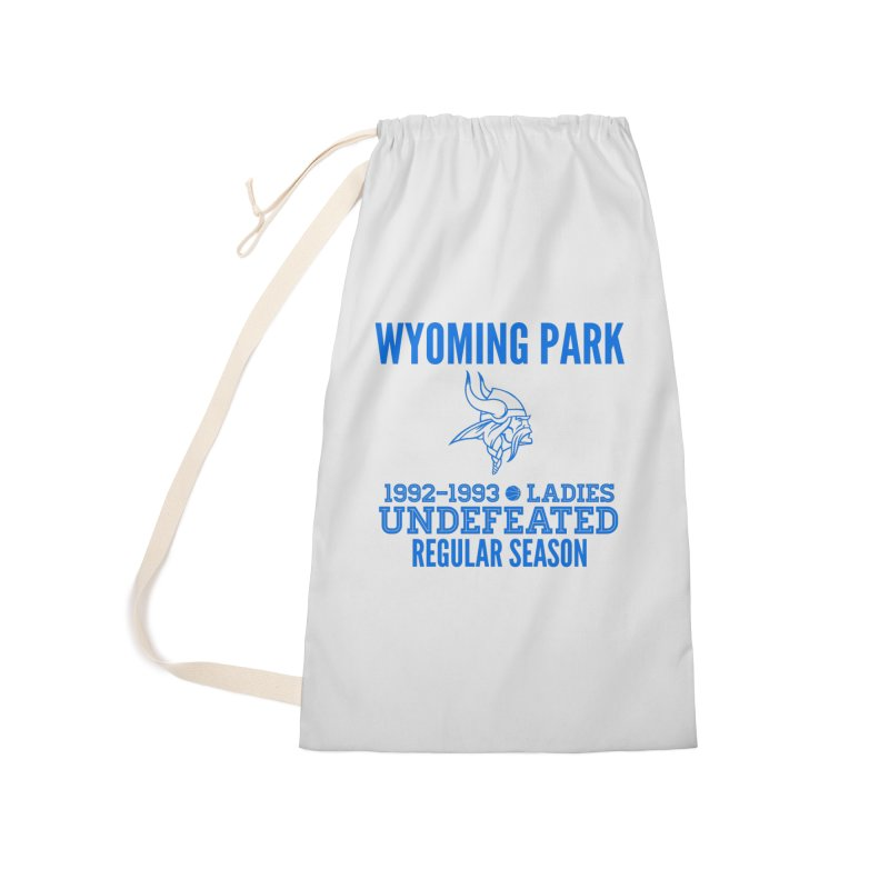 Wyoming Park 92-93 Undefeated Ladies Bball Blue Accessories Laundry Bag Bag by Elevation Wyoming