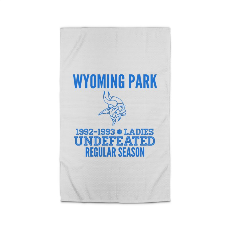 Wyoming Park 92-93 Undefeated Ladies Bball Blue Home Rug by Elevation Wyoming