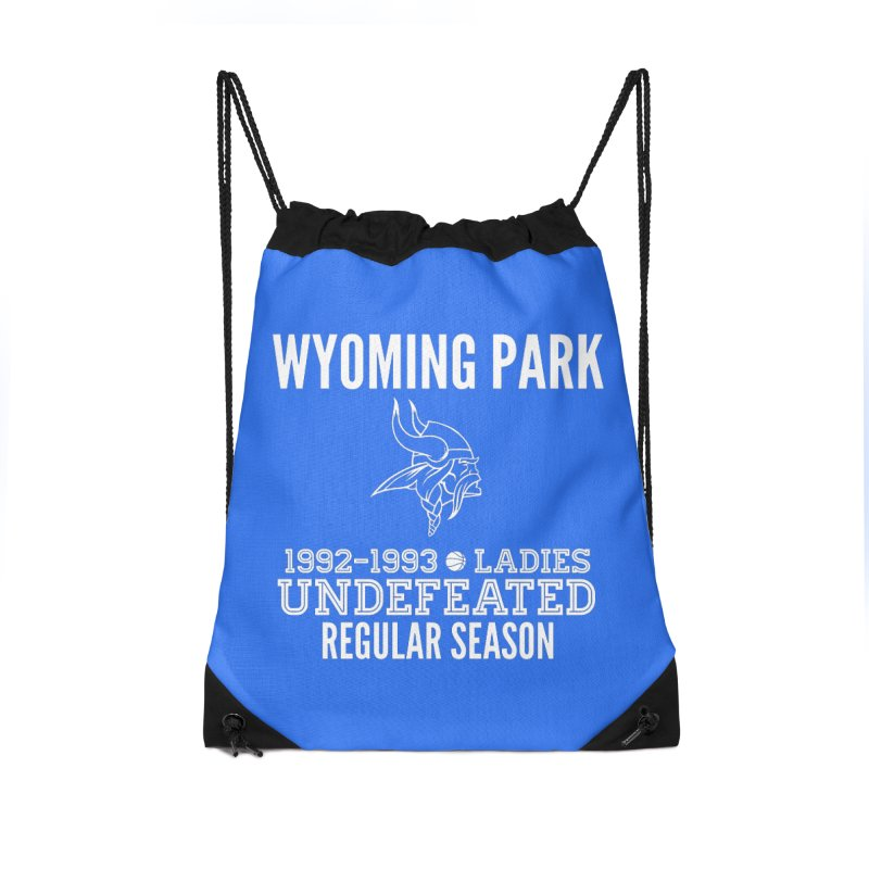 Wyoming Park 92-93 Undefeated Ladies Bball white Accessories Bag by Elevation Wyoming
