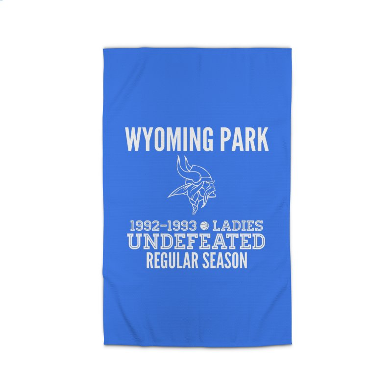 Wyoming Park 92-93 Undefeated Ladies Bball white Home Rug by Elevation Wyoming
