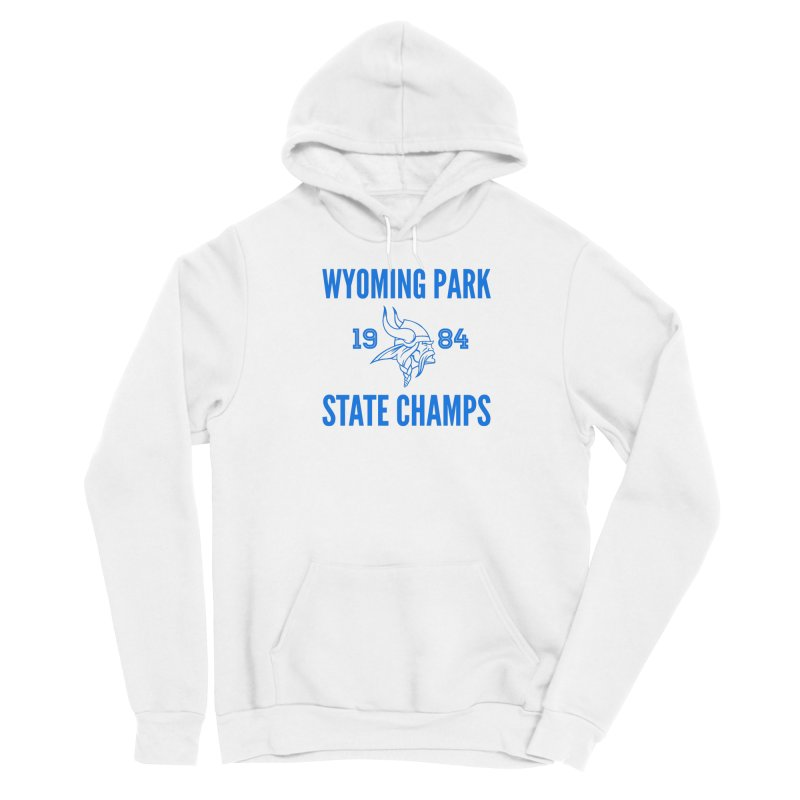 WP84 State Champs blue Men's Pullover Hoody by Elevation Wyoming