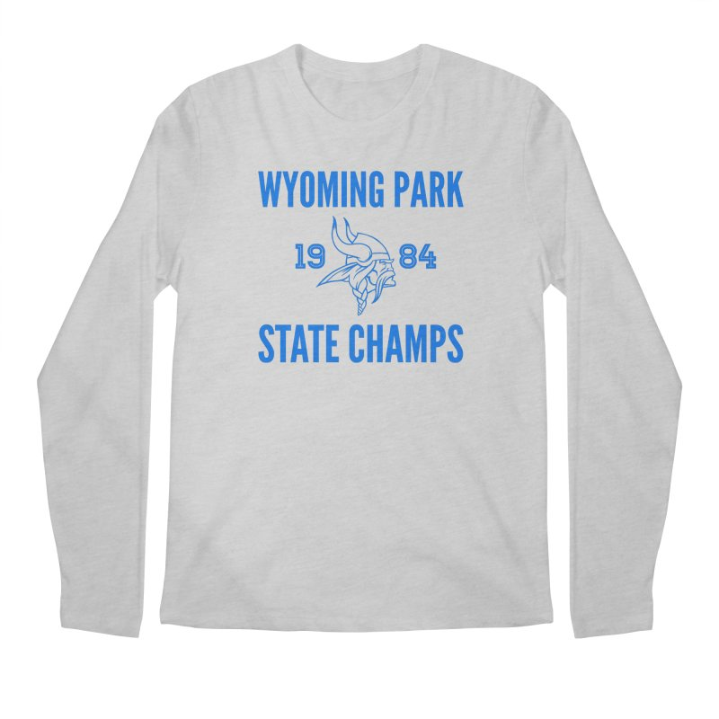 WP84 State Champs blue Men's Regular Longsleeve T-Shirt by Elevation Wyoming