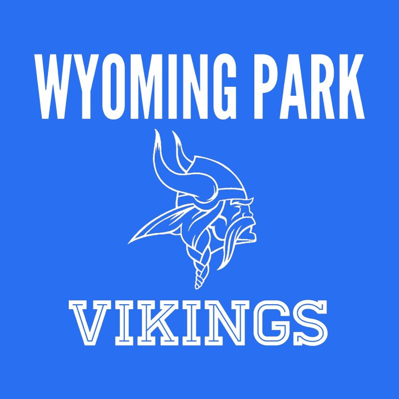 Wyoming Park Viking White Women's Tank by Elevation Wyoming