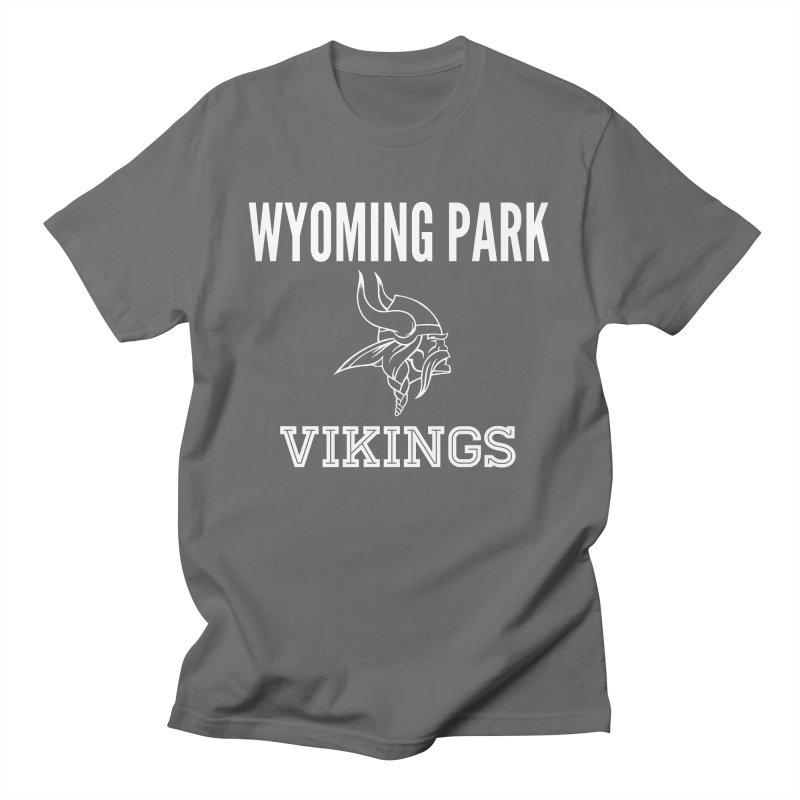 Wyoming Park Viking White Men's T-Shirt by Elevation Wyoming