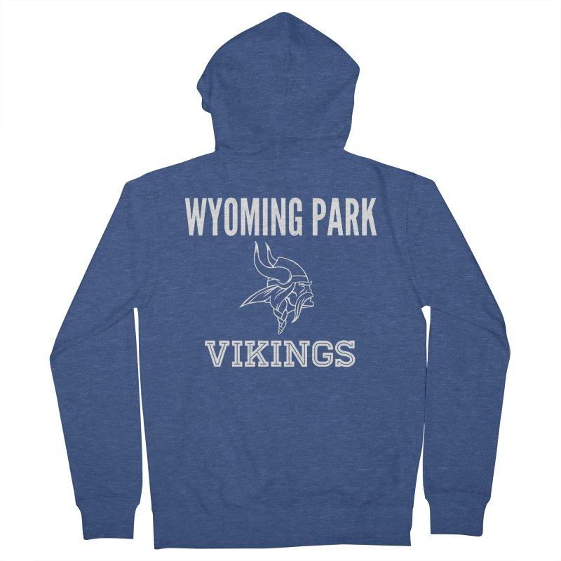 Wyoming Park Viking White Women's Zip-Up Hoody by Elevation Wyoming