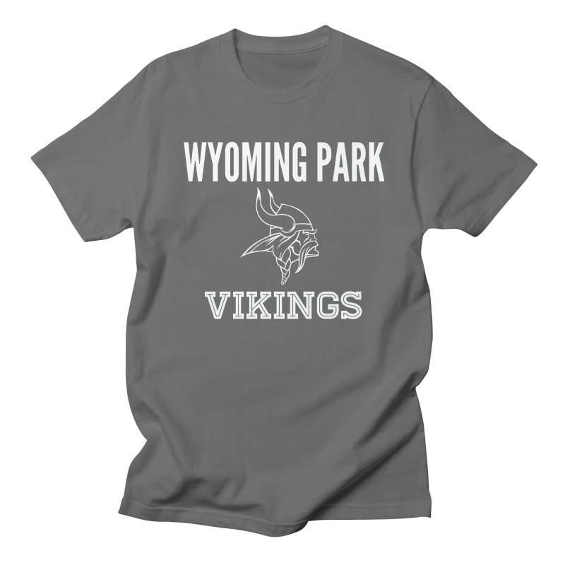 Wyoming Park Viking White Men's T-Shirt by Elevation Wyoming