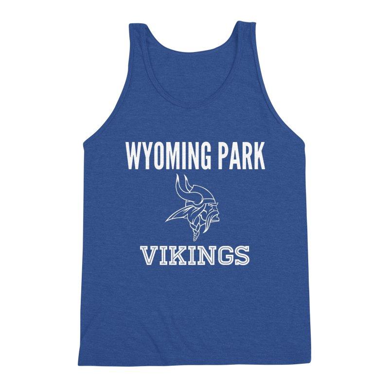 Wyoming Park Viking White Men's Tank by Elevation Wyoming