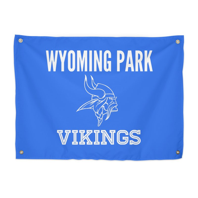 Wyoming Park Viking White Home Tapestry by Elevation Wyoming