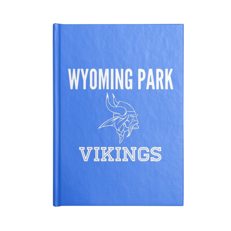 Wyoming Park Viking White Accessories Lined Journal Notebook by Elevation Wyoming