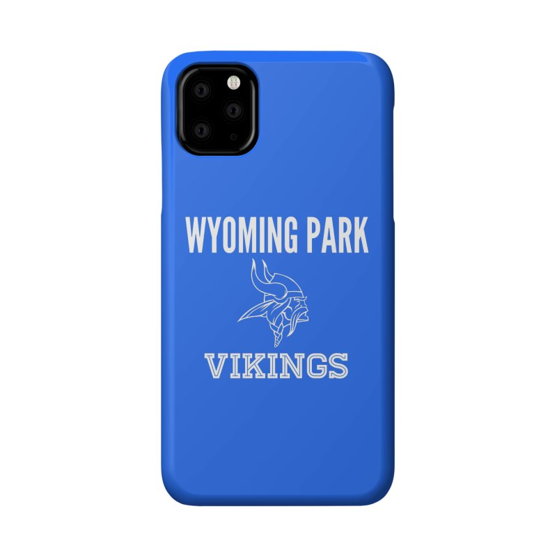Wyoming Park Viking White Accessories Phone Case by Elevation Wyoming