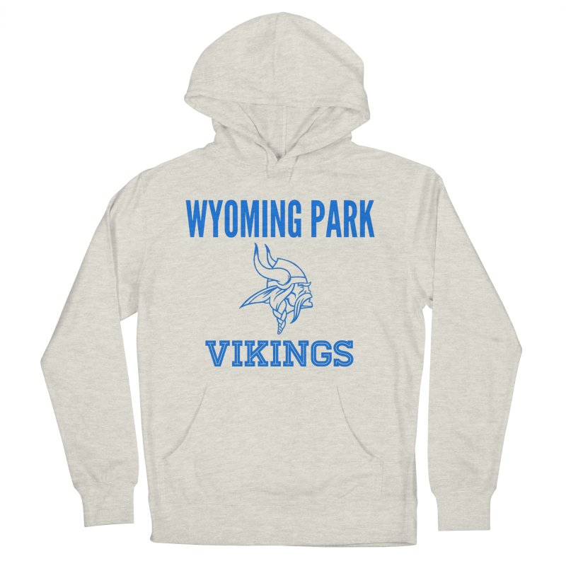 Wyoming Park Vikings Blue Women's French Terry Pullover Hoody by Elevation Wyoming