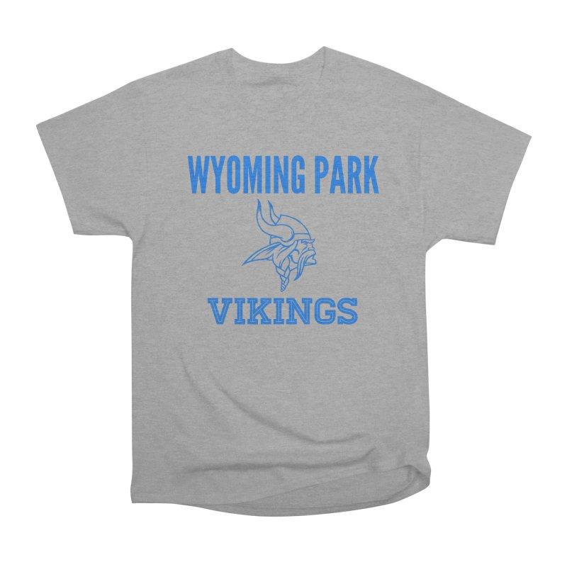 Wyoming Park Vikings Blue Women's Heavyweight Unisex T-Shirt by Elevation Wyoming