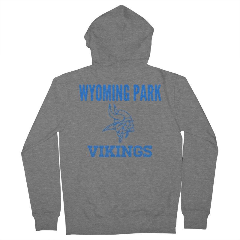 Wyoming Park Vikings Blue Men's Zip-Up Hoody by Elevation Wyoming