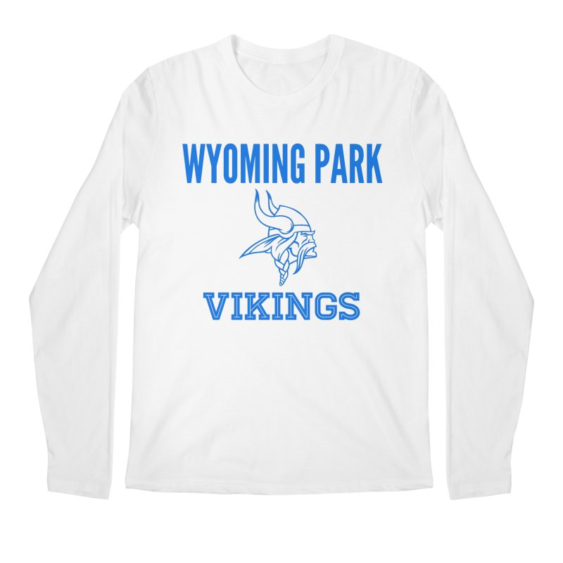 Wyoming Park Vikings Blue Men's Regular Longsleeve T-Shirt by Elevation Wyoming