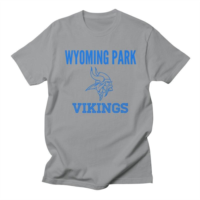 Wyoming Park Vikings Blue Men's T-Shirt by Elevation Wyoming