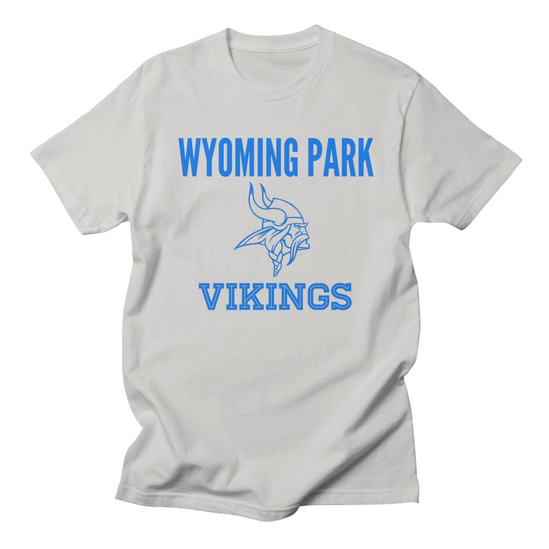 Wyoming Park Vikings Blue Men's T-Shirt by Elevation Wyoming