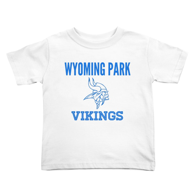 Wyoming Park Vikings Blue Kids Toddler T-Shirt by Elevation Wyoming