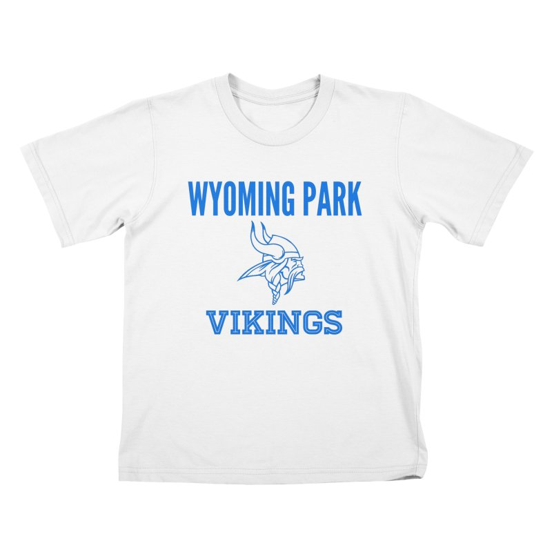 Wyoming Park Vikings Blue Kids T-Shirt by Elevation Wyoming