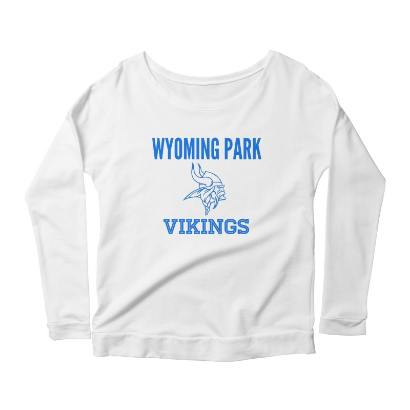 Wyoming Park Vikings Blue Women's Scoop Neck Longsleeve T-Shirt by Elevation Wyoming