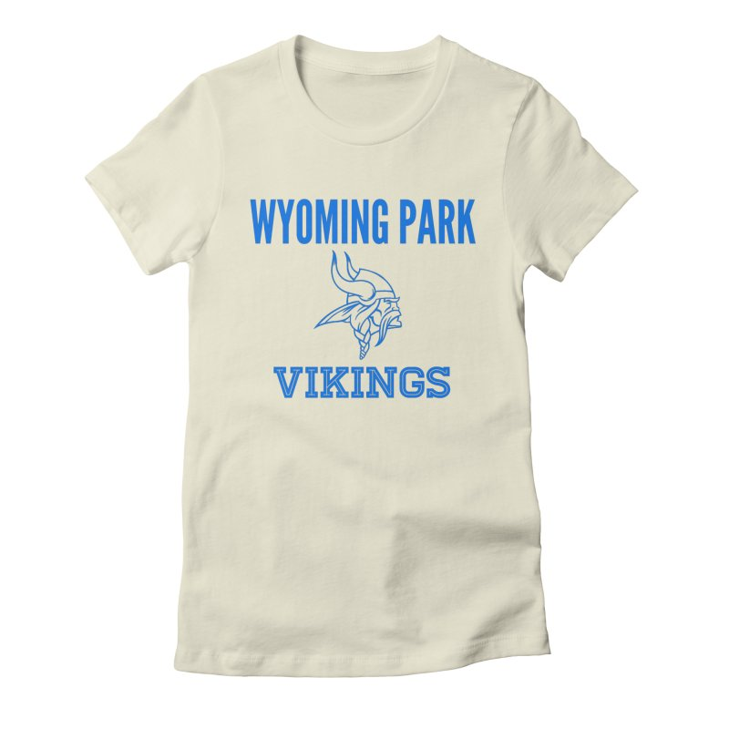 Wyoming Park Vikings Blue Women's T-Shirt by Elevation Wyoming