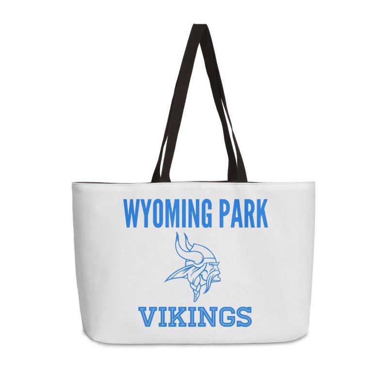 Wyoming Park Vikings Blue Accessories Weekender Bag Bag by Elevation Wyoming