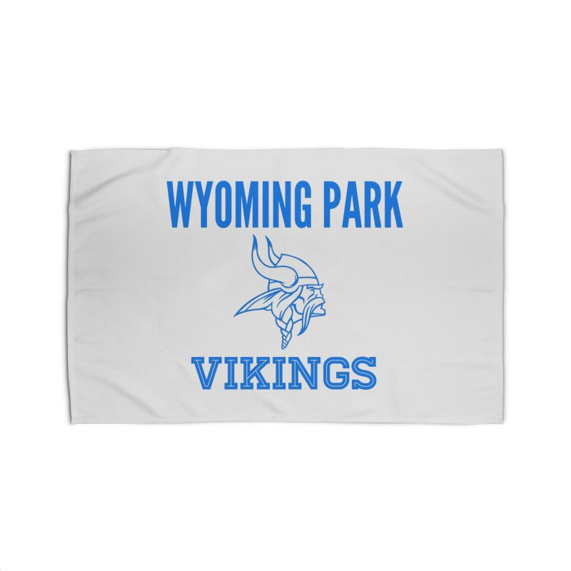 Wyoming Park Vikings Blue Home Rug by Elevation Wyoming