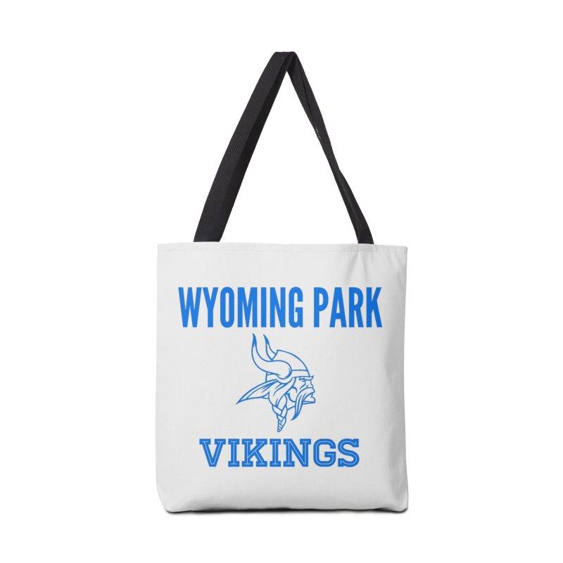 Wyoming Park Vikings Blue Accessories Bag by Elevation Wyoming