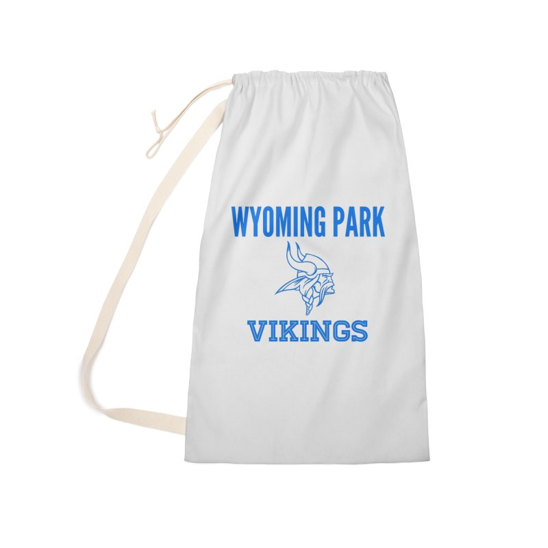 Wyoming Park Vikings Blue Accessories Laundry Bag Bag by Elevation Wyoming