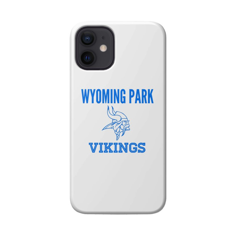 Wyoming Park Vikings Blue Accessories Phone Case by Elevation Wyoming