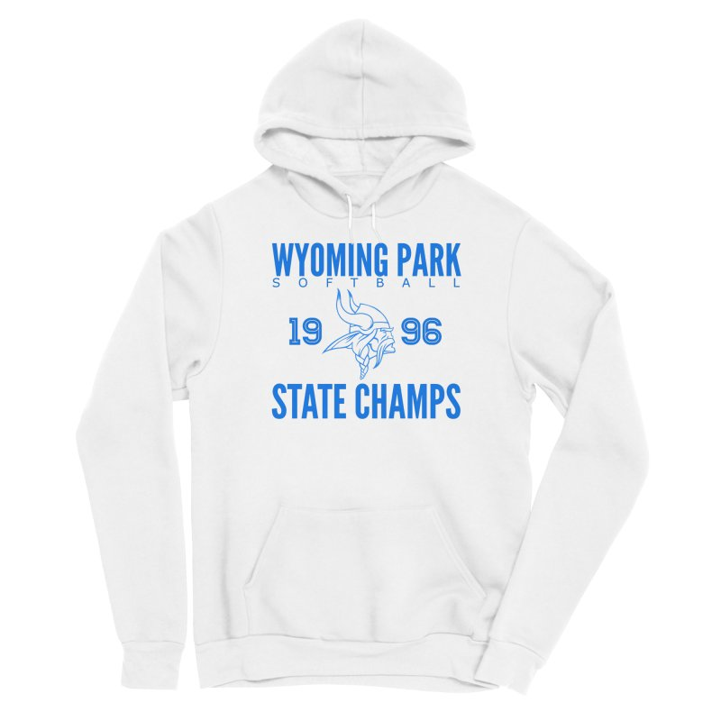 Wyoming Park 1996 Softball State Champs Blue Men's Pullover Hoody by Elevation Wyoming