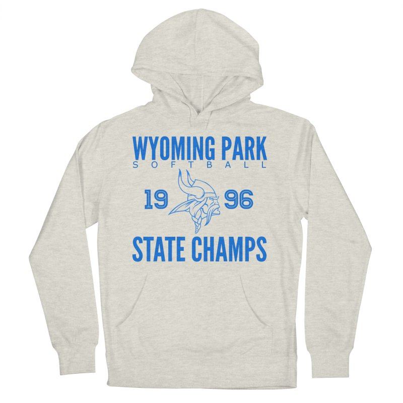 Wyoming Park 1996 Softball State Champs Blue Women's French Terry Pullover Hoody by Elevation Wyoming