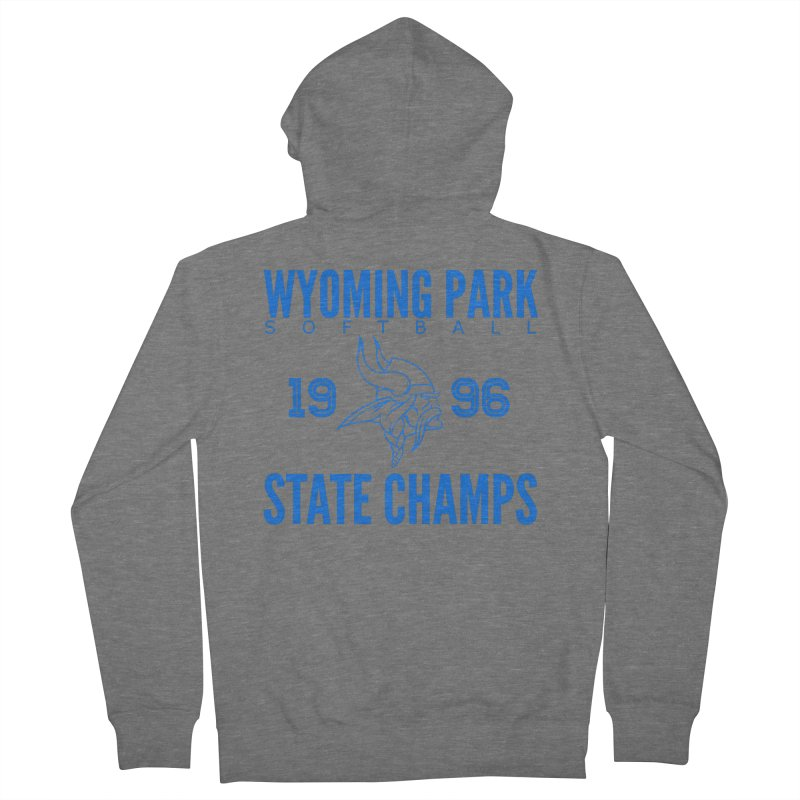 Wyoming Park 1996 Softball State Champs Blue Women's Zip-Up Hoody by Elevation Wyoming