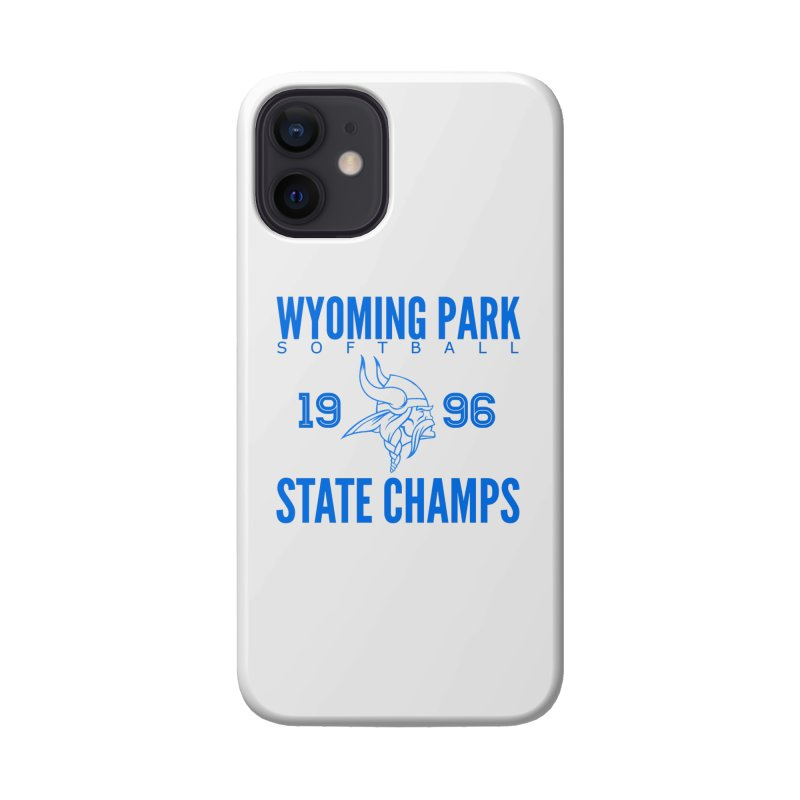 Wyoming Park 1996 Softball State Champs Blue Accessories Phone Case by Elevation Wyoming
