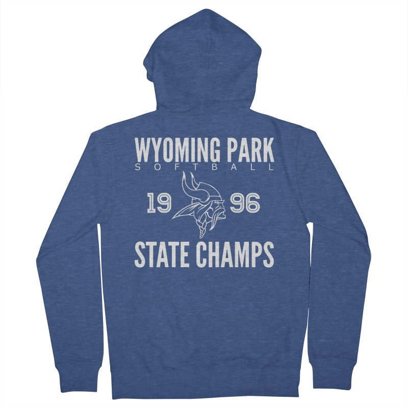 Wyoming Park 1996 Softball State Champs Women's Zip-Up Hoody by Elevation Wyoming
