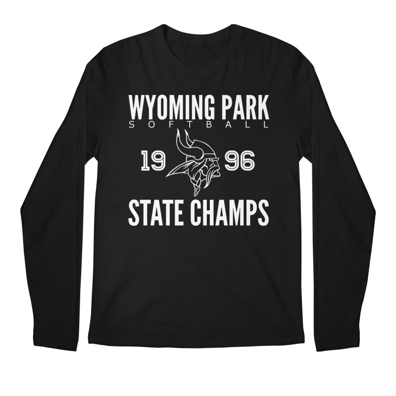 Wyoming Park 1996 Softball State Champs Men's Regular Longsleeve T-Shirt by Elevation Wyoming